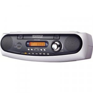 Magnavox White Under Cabinet Cd Clock Radio