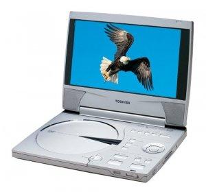 "Toshiba Sdp2000 Portable Dvd Player With 9"" Screen"