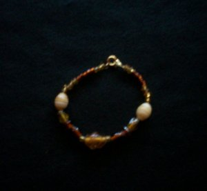 Golden Brown Bracelet