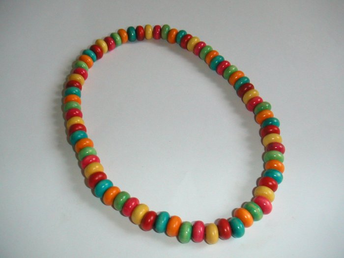 necklace oval bean