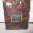 2 Croscill MARSALA Red Euro shams NIP