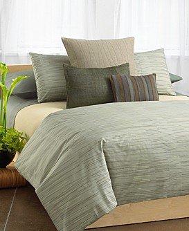 Calvin Klein SANDED LINES Atlantic King pillowcases