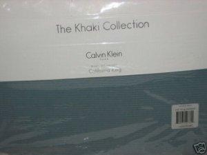 Calvin Klein BELIZE Cal King Bedskirt 1stQual