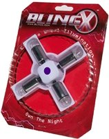 BlingX purple LED wheel lights - 4 pack
