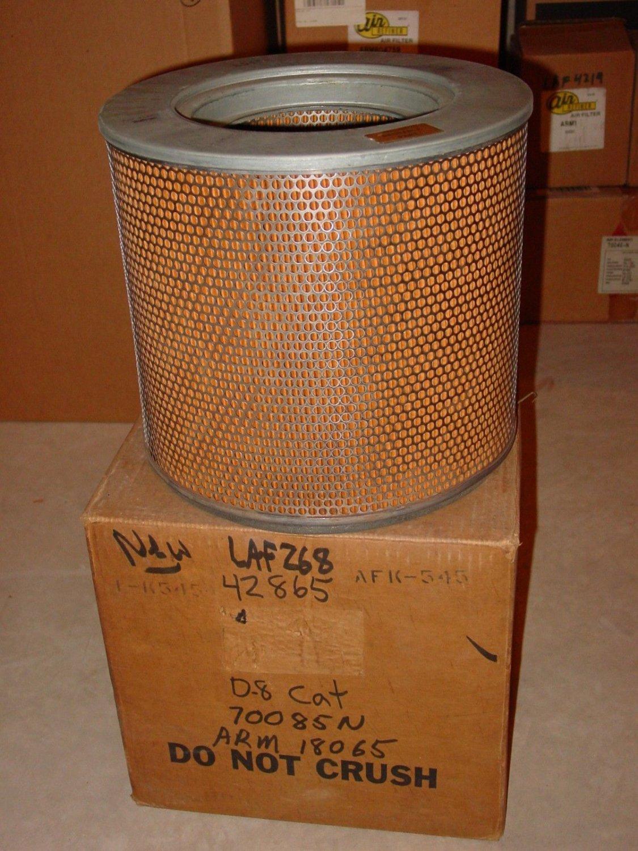 Luber Finer LAF268 air filter - NEW - Michigan Caterpillar IHC Galion Broyt