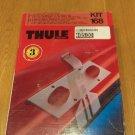 Thule roof rack fit kit # 168 - NEW - Mazda 626 / Ford Telstar - FREE SHIP