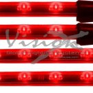 Vision-X Flex-Motion Flexible Red LED Undercar Lighting - NEW