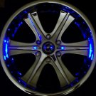 BlingX BlinX Tri-Color Red, Blue, Yellow LED wheel lights - 4 pack CLOSEOUT SALE