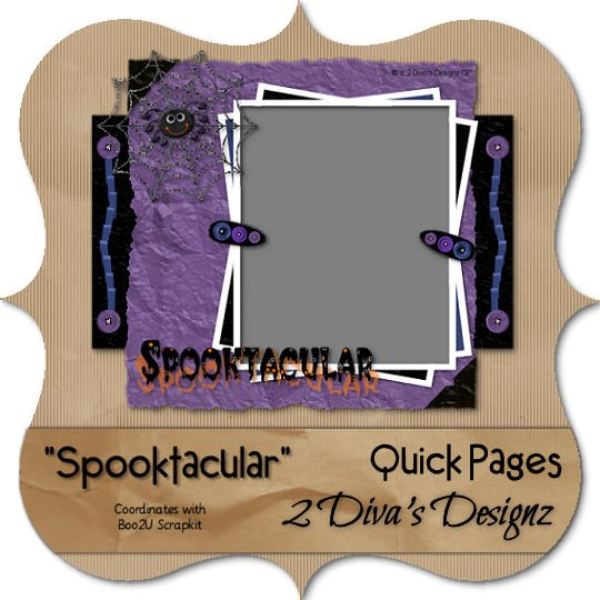 Spooktacular Quick Page