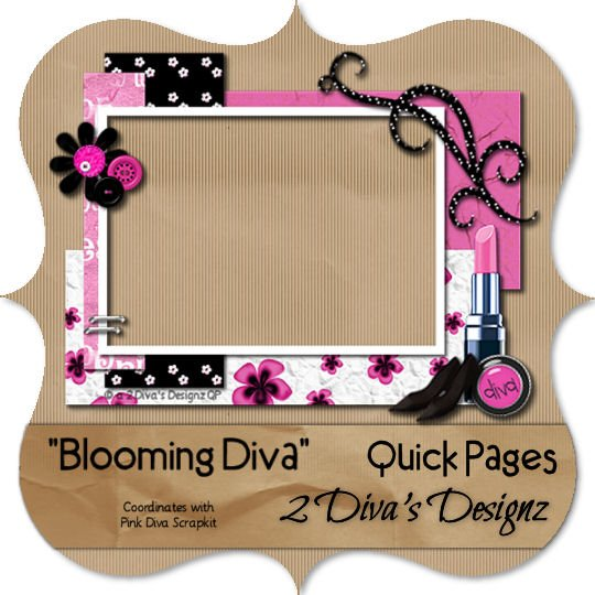 Blooming Diva Quick Page