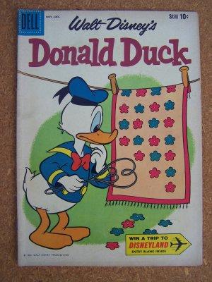 Donald Duck #74 (Dell 1960)
