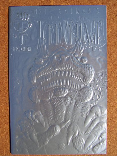 Neil Gaiman's Teknophage #1 (Steel Edition)