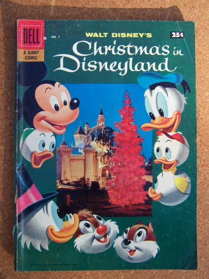Walt Disney's Christmas in Disneyland #1 (Dell Giant 1957)