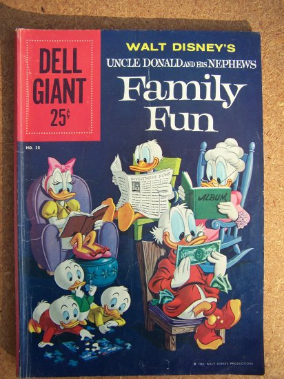 Dell Giant #38 Walt Disney's Family Fun
