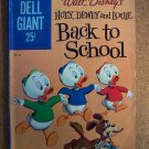 Dell Giant #35 Huey, Dewey and Louie Back to School