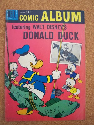 Comic Album #1 (Dell 1958) featuring Donald Duck