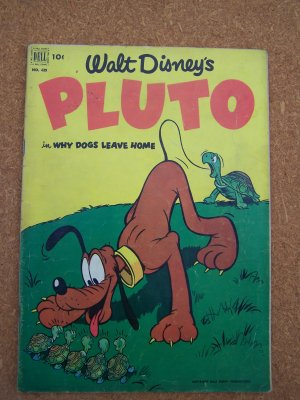 Dell Four Color #429 Walt Disney's Pluto (1952)