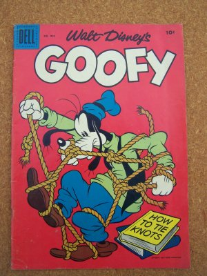 Dell Four Color #802 Walt Disney's Goofy (1957)