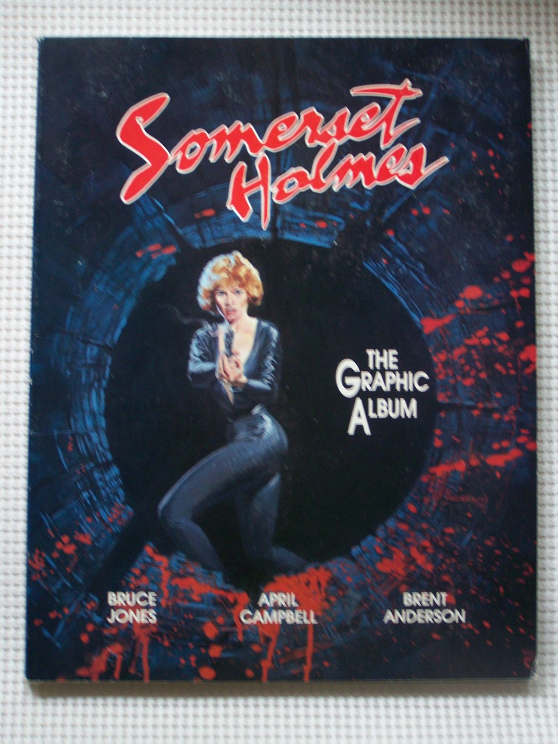 Somerset Holmes: the Graphic Album
