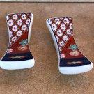 Vintage Set of 4 Ceramic Chopstick Rests Made in Japan - 1980's