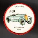 1917 WOLVERINE Jell-O Picture Wheel #69