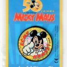 MICKEY MOUSE Micky Maus 50 Years Anniversary Pin from Germany REAL AWESOME!