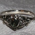 STERLING SILVER RING with ABALONE SHELL size 7