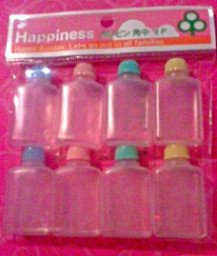 Happiness Set Of 8 Sauce Bottles FREE SHIPPING