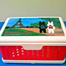 Gaspard et Lisa Collapsible Sandwich Box