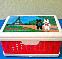 Gaspard et Lisa Collapsible Sandwich Box