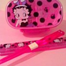 "Sanrio Japan BETTY BOOP Bento Set ""Rare Item"""