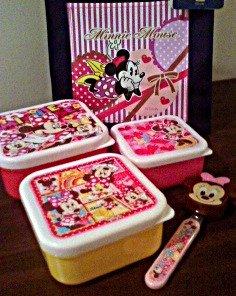 Minnie Mouse Bento Super Set