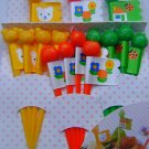 CIAO! Farm Food Picks w/ Flags FREE SHIPPING