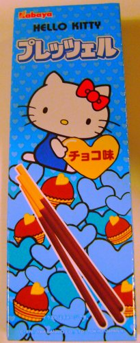 Chocolate Hello Kitty Pocky