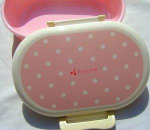 Cherry Pink Snap Seal Bento Box