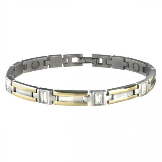 Sabona 304 Lady Executive Gem Duet Magnetic Bracelet - SIZE SMALL