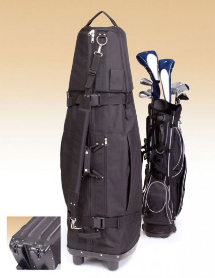 Executive GOLF Bag Travel Cover with Wheels - New!  **FREE SHIPPING**