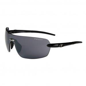 Tifosi VOGEL Gloss Black Sunglasses Smoke Lens