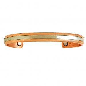 Sergio Lub 748 TWO WORLDS Ladies Magnetic Copper Bracelet - SIZE MEDIUM