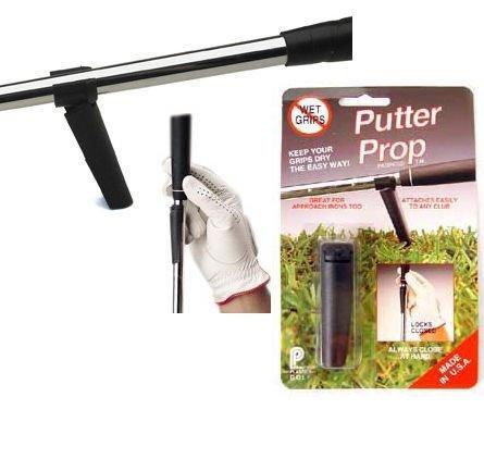 Golf Putter Prop - Keep grips dry!