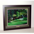 Augusta National Hole #12 Golden Bell 24 x 30 Framed Print