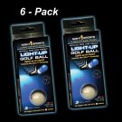 Twilight Tracer Night Sports Glow Golf Balls - 6 PACK