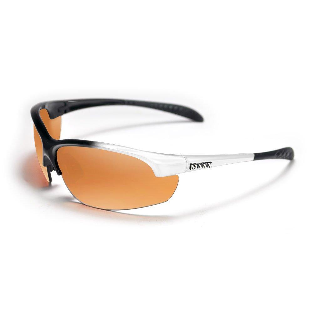 Maxx DOMAIN White POLARIZED HDP Golf Sunglasses