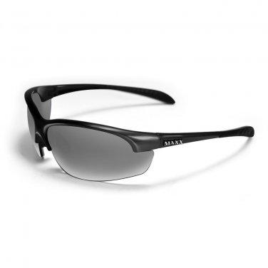 Maxx DOMAIN SMOKE Polarized BLACK Golf Sunglasses
