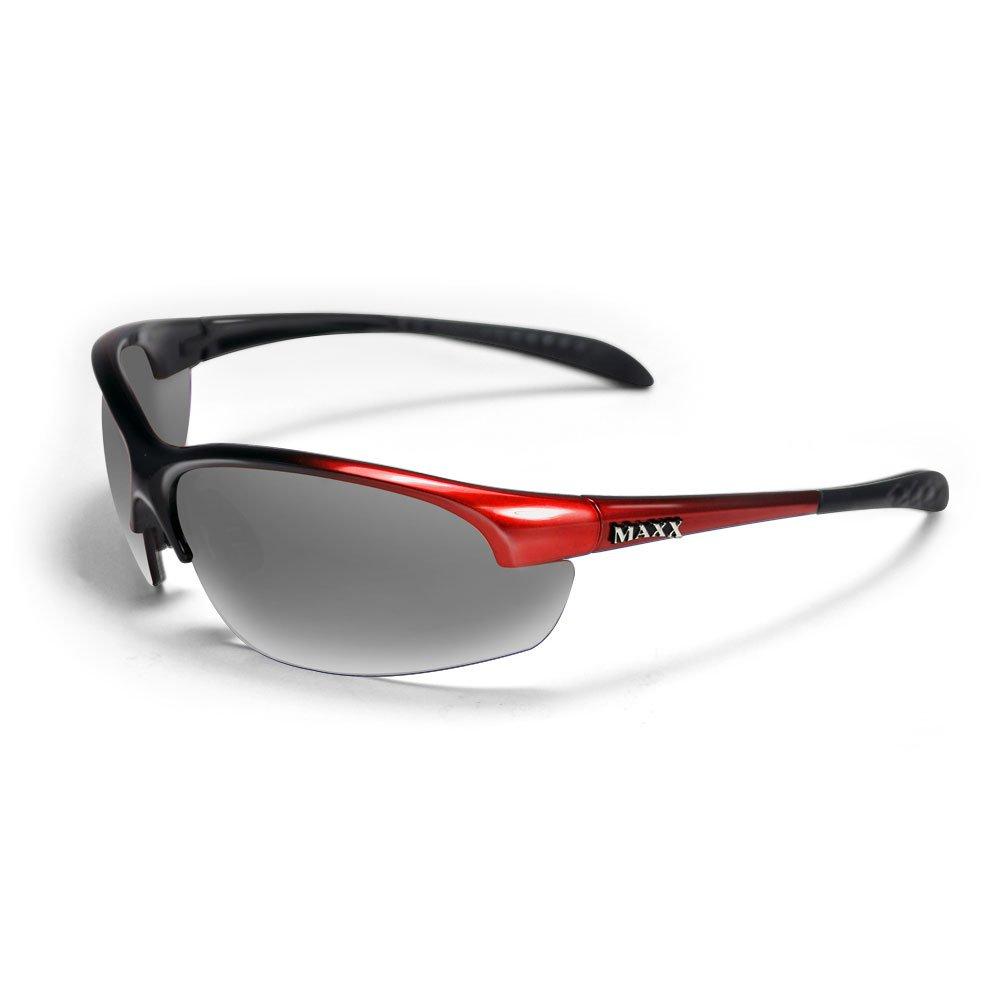 Maxx DOMAIN SMOKE Polarized RED Golf Sunglasses