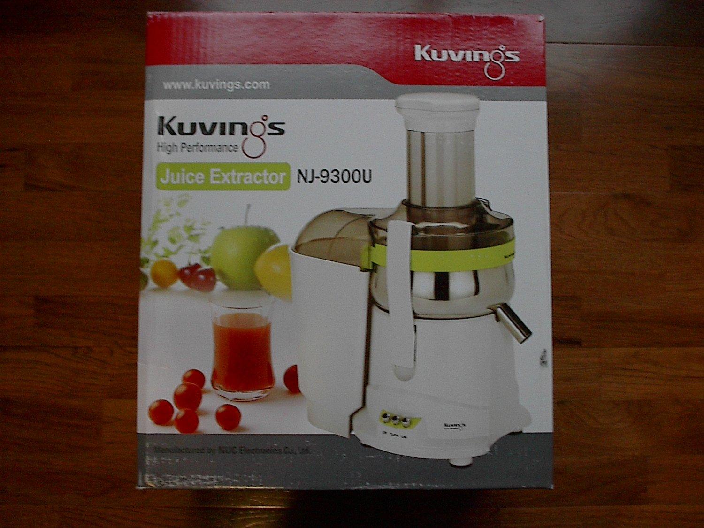 Kuvings Juicer Juice Extractor NJ-9300U *Like New*