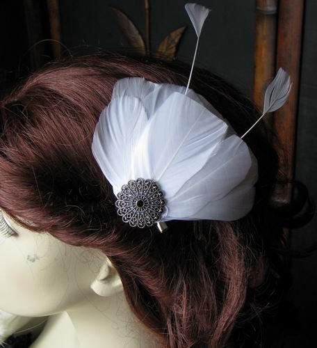 Bridal Feathers Fascinator