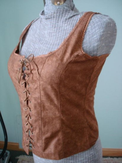 $29.99 free shipment_Renaissance Goth Fitted Corset Bodice,Tank top-New &Tag Free shipment