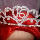 $17.99 New with tag-Rhinestone Crystal Sweet 16 Tiara, Crown, Headband
