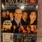 Law & Order Special Victims Unit Third Year- Brand New & Sealed
